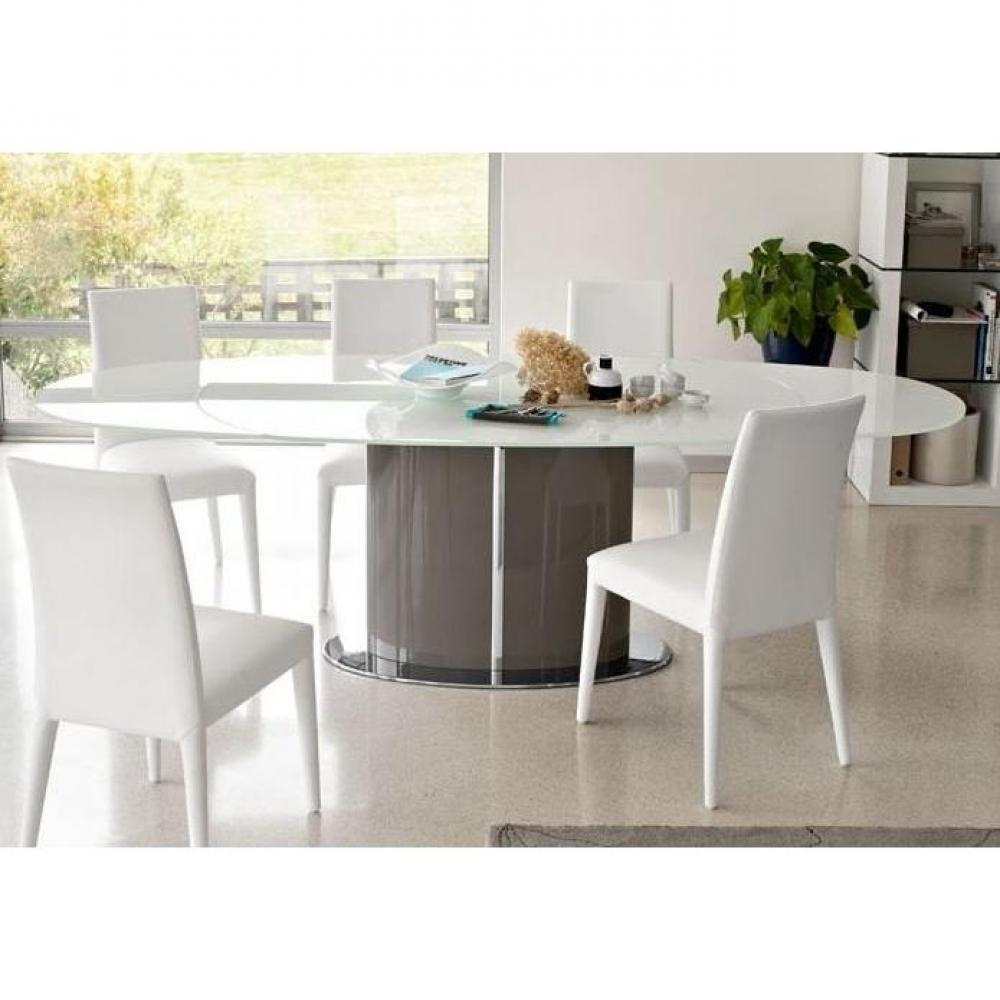 Tables repas tables et chaises calligaris table repas ovale extensible odys - Table ovale extensible design ...