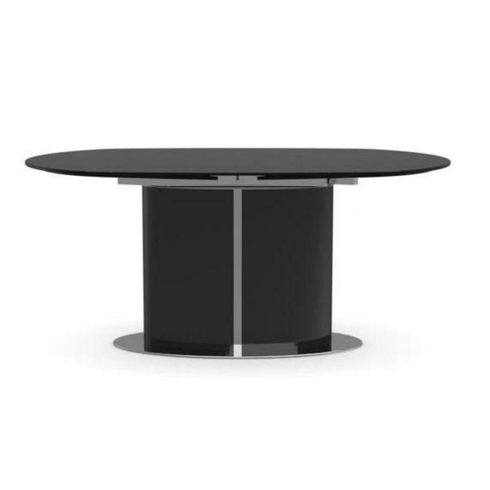 Table De Repas Ovale En Verre Pied Vague Pictures To Pin