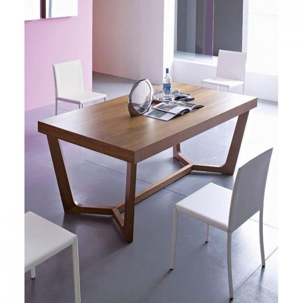 tables repas tables et chaises table repas extensible prince 180x100 de calligaris noyer. Black Bedroom Furniture Sets. Home Design Ideas