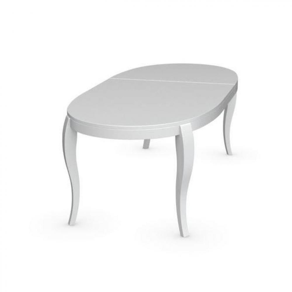 Table ovale extensible for Table ovale extensible pas cher