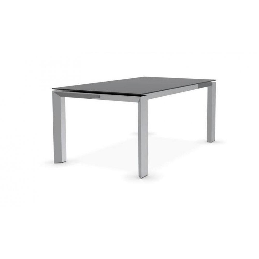 tables repas tables et chaises calligaris table repas extensible royal 180x100 en verre. Black Bedroom Furniture Sets. Home Design Ideas