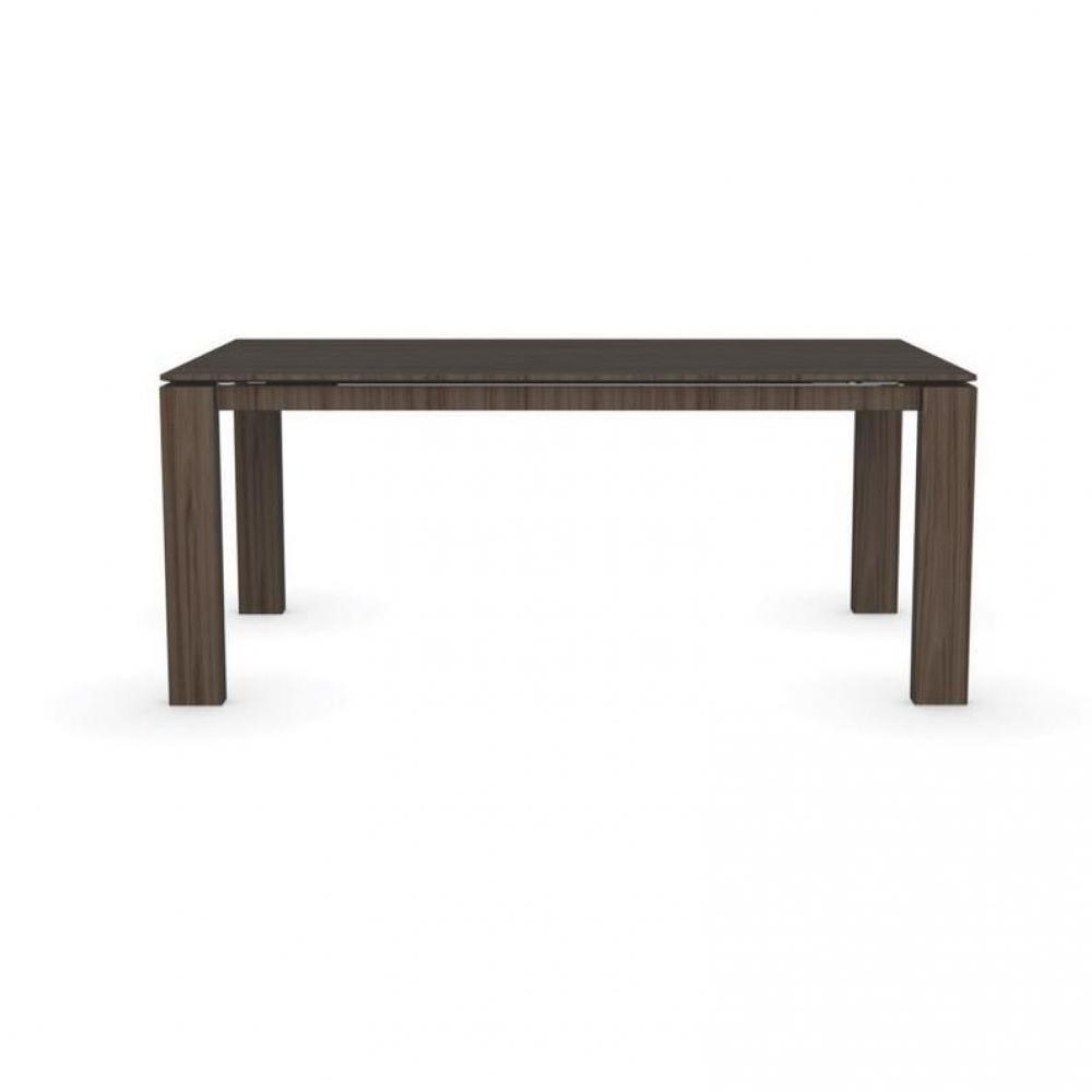 tables tables et chaises calligaris table repas extensible sigma xl 180x100 en bois fum. Black Bedroom Furniture Sets. Home Design Ideas
