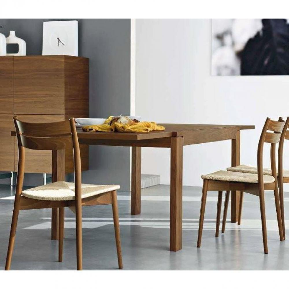 tables repas tables et chaises calligaris table repas extensible vero 130x90 noyer inside75. Black Bedroom Furniture Sets. Home Design Ideas