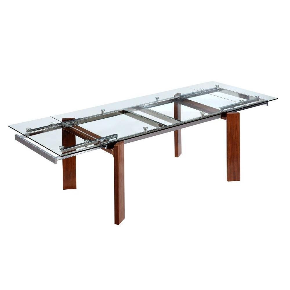 Tables extensibles tables et chaises table design extensible woodies insi - Table design extensible ...