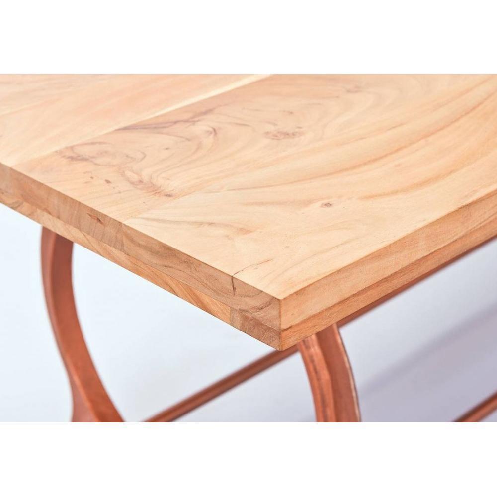Tables repas tables et chaises table repas industrielle o tone en bois mass - Table repas bois massif ...