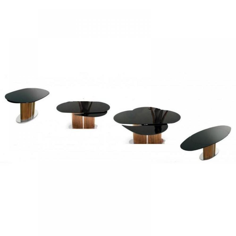 Table ovale extensible design - Table ovale verre extensible ...