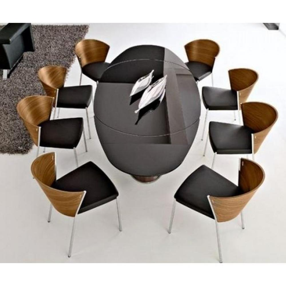 Tables relevables tables et chaises calligaris table - Table ovale extensible ...