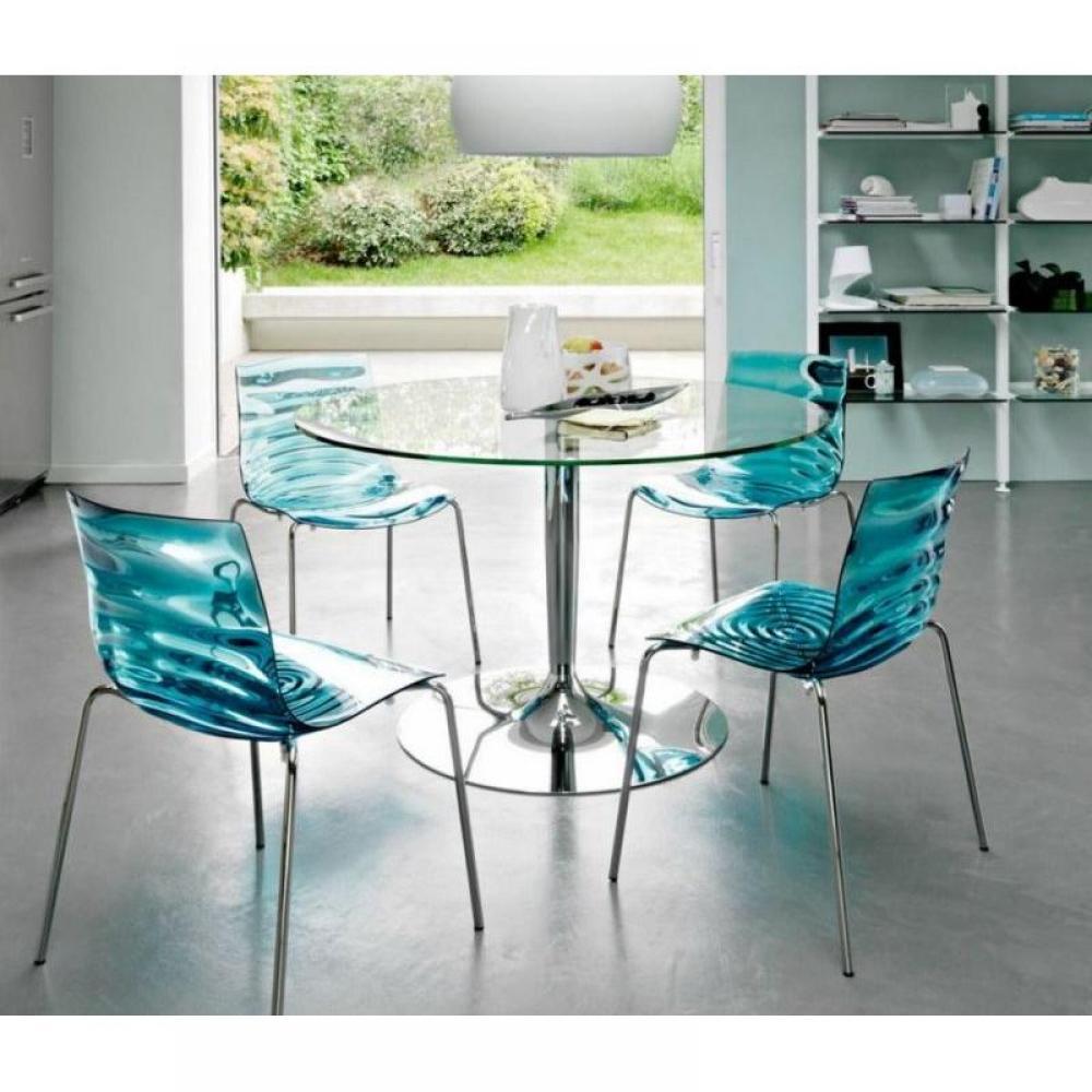 Chaises pour table ronde en verre 20170721144103 - Chaises pour table en verre ...