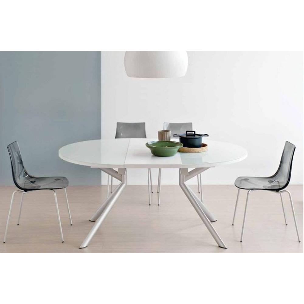 Tables tables et chaises table de repas extensible ronde for Table ronde tulipe extensible