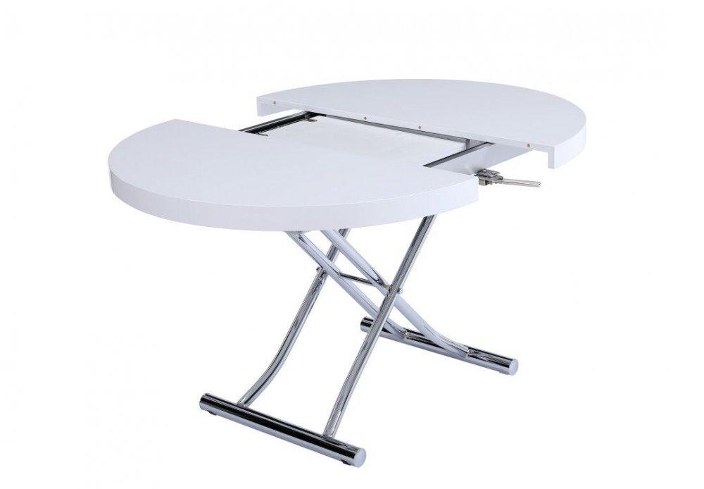 table basse ronde relevable extensible 28 images. Black Bedroom Furniture Sets. Home Design Ideas