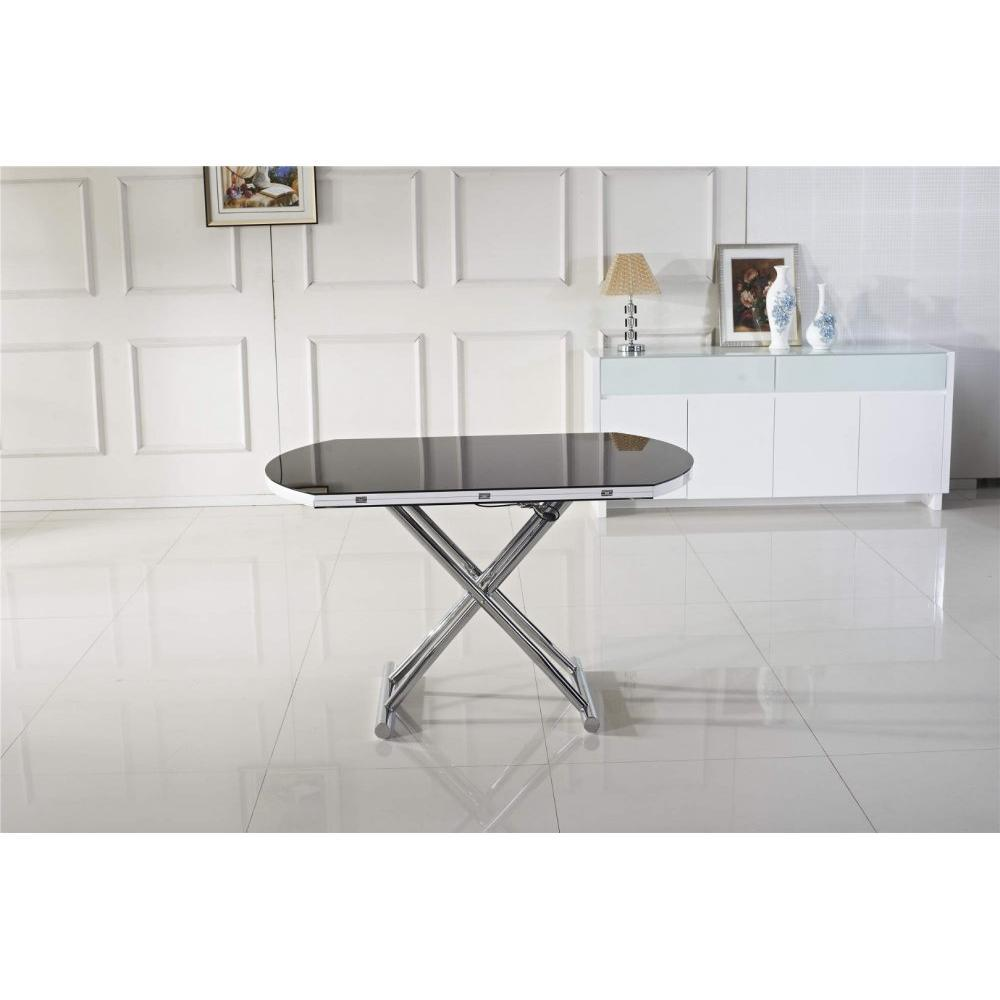 Rapido convertibles canap s syst me rapido table basse - Table basse ronde noire ...