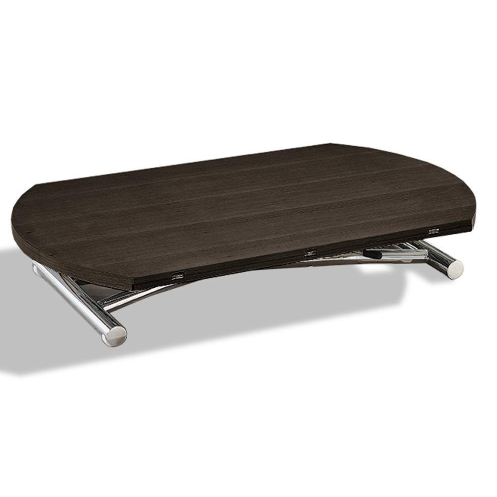Chaises pliantes tables et chaises calligaris chaise for Table basse relevable wenge