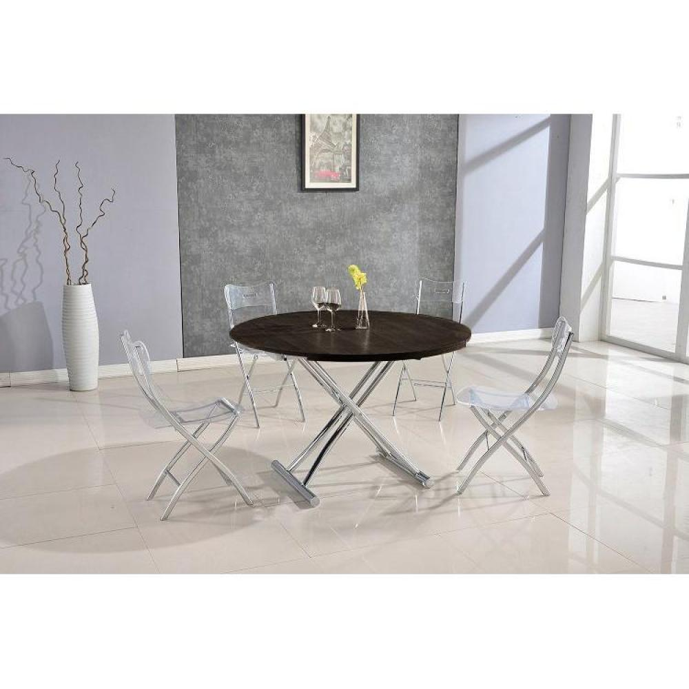 Tables relevables tables et chaises table basse ronde relevable et extensible planet weng - Tables relevables extensibles ...