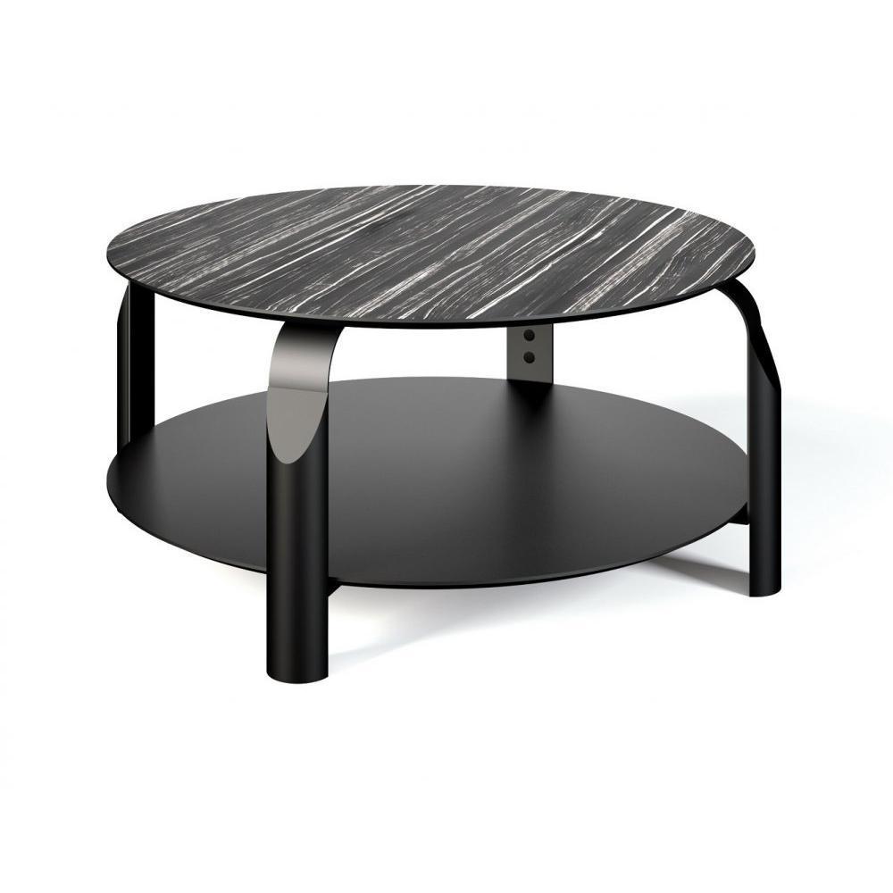 Tables basses tables et chaises temahome table basse relevable scale 80 80 cm noire inside75 - Table basse relevable noire ...