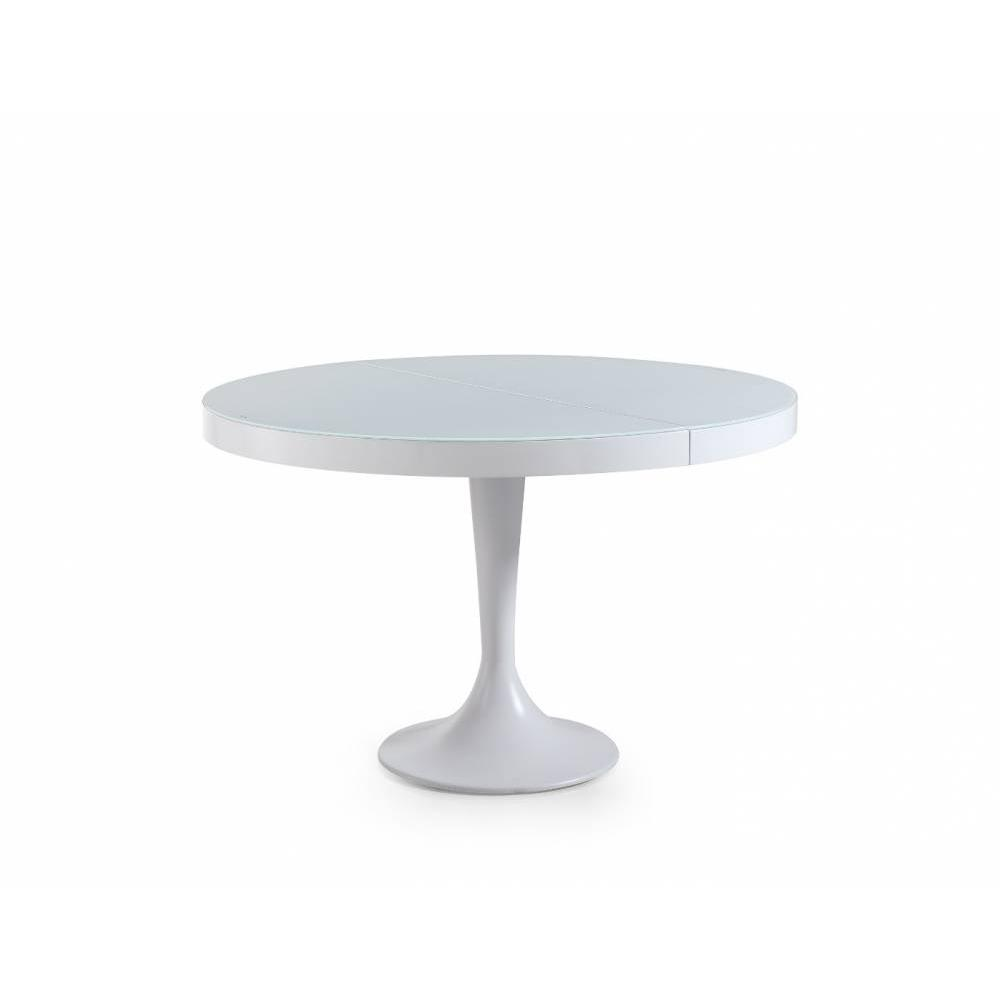 Tables repas tables et chaises table ronde extensible for Table ronde tulipe extensible