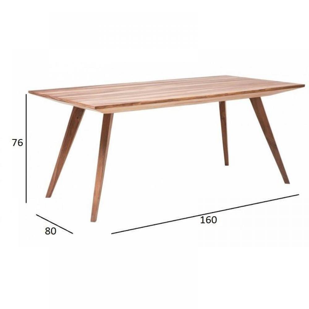 Tables tables et chaises table repas wild en bois massif - Table repas bois massif ...