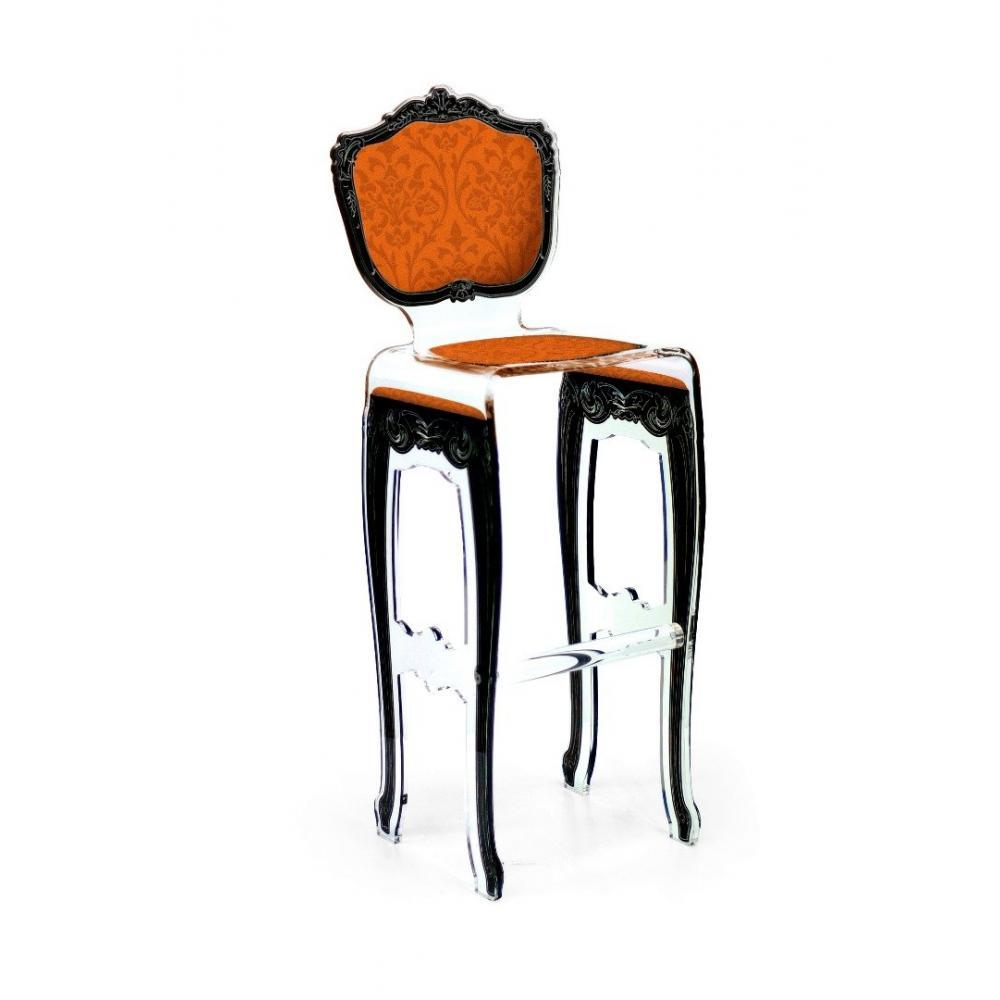 tabouret orange. Black Bedroom Furniture Sets. Home Design Ideas