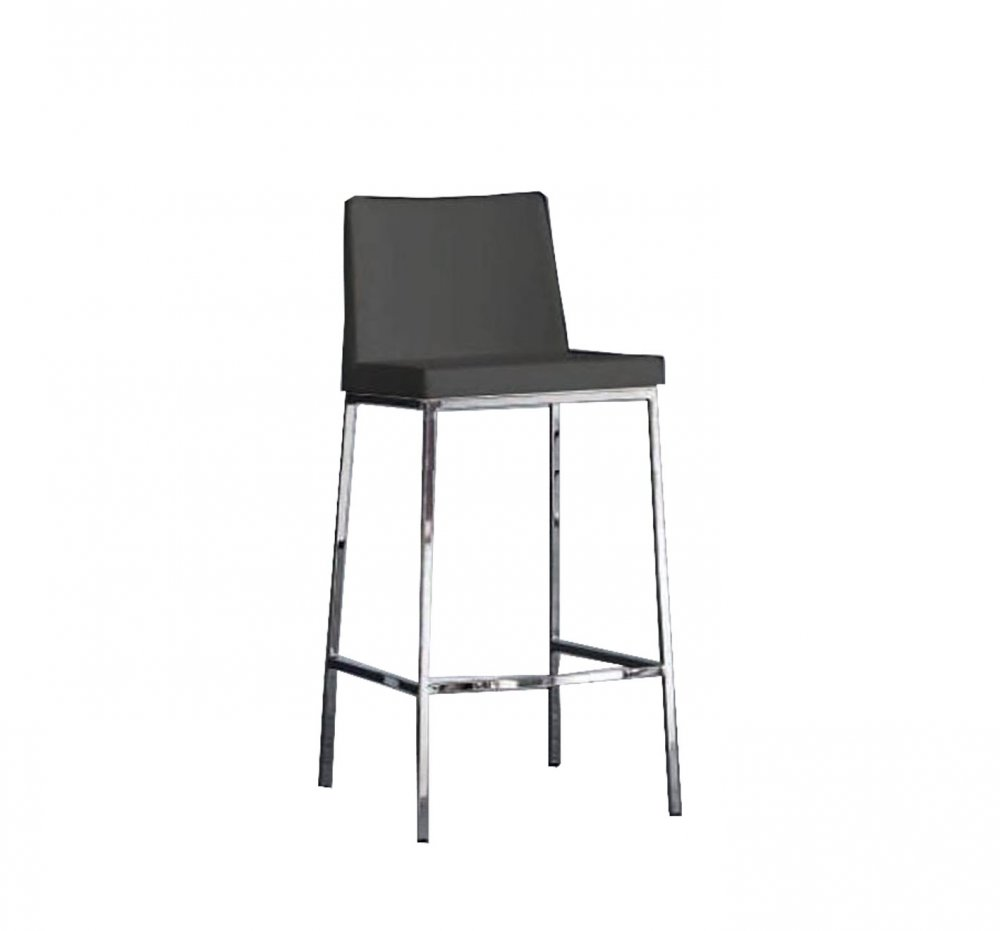 Chaises de bar tables et chaises tabouret de bar erik en - Pied de tabouret bar chrome ...