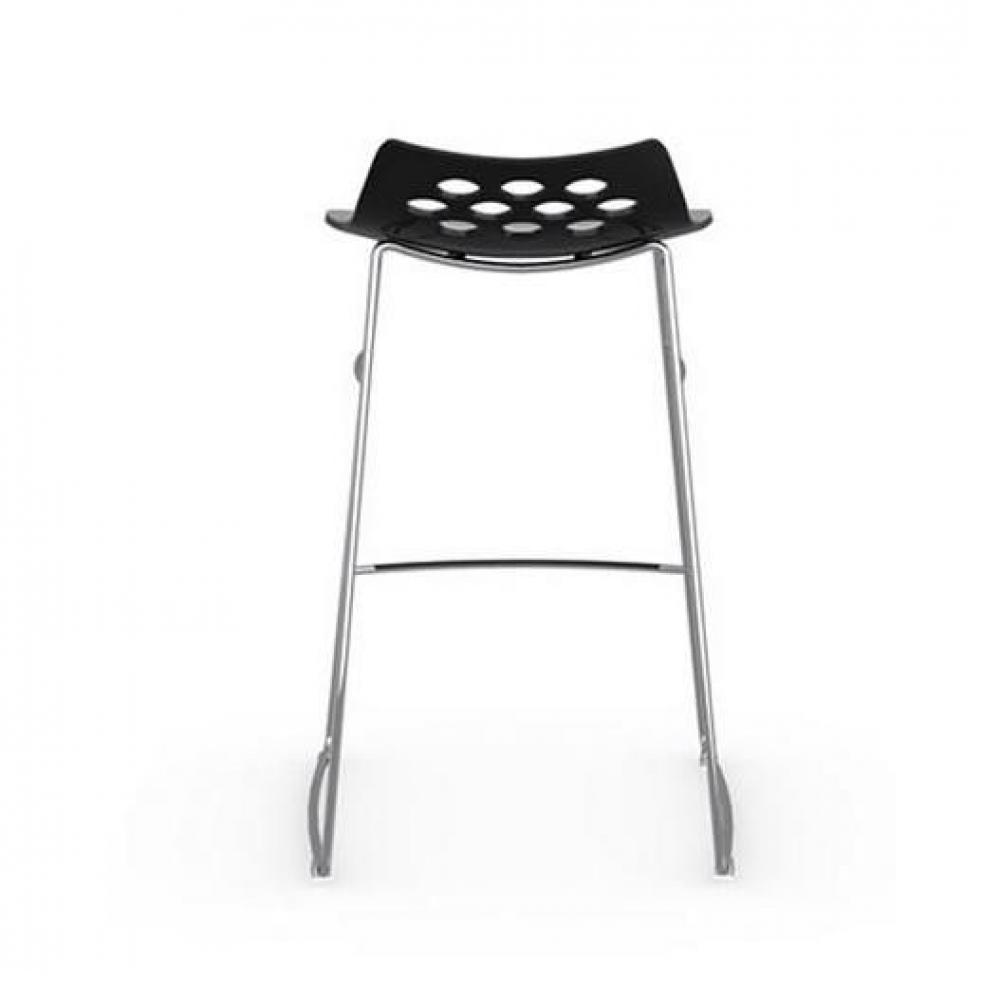 Tabourets de bar tables et chaises calligaris tabouret de bar design jam pi tement luge assise - Tabouret de bar noir et blanc ...