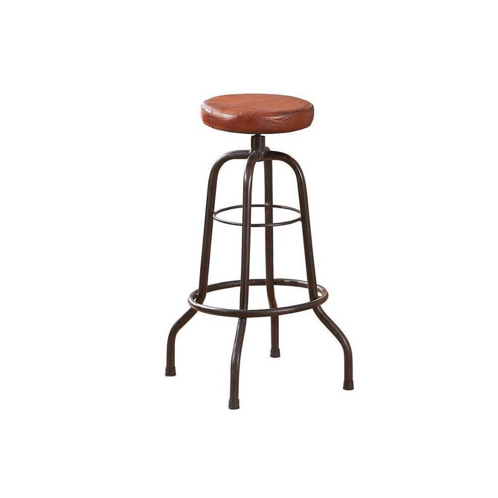 Tabourets de bar tables et chaises tabouret de bar longo - Tabouret de bar en cuir ...