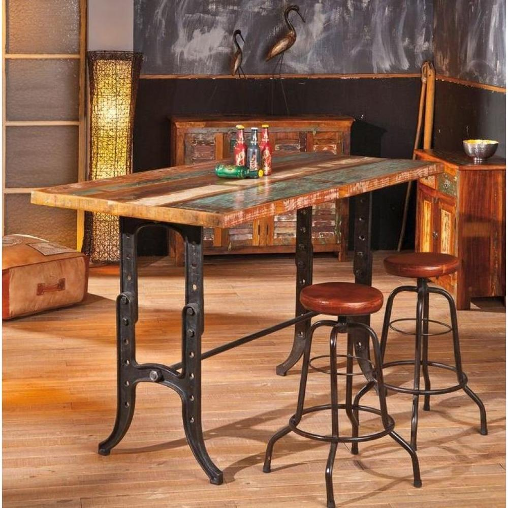 Tabourets de bar tables et chaises tabouret de bar longo for Table de bar en bois