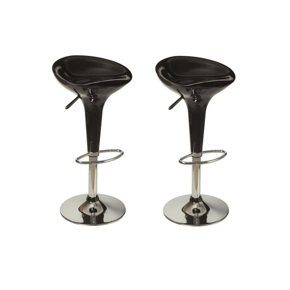 Tabourets de bar tables et chaises lot de 2 tabourets for Table et tabouret bar