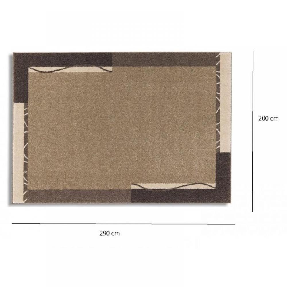 samoa design tapis patchwork taupe 200x290 cm place du mariage. Black Bedroom Furniture Sets. Home Design Ideas