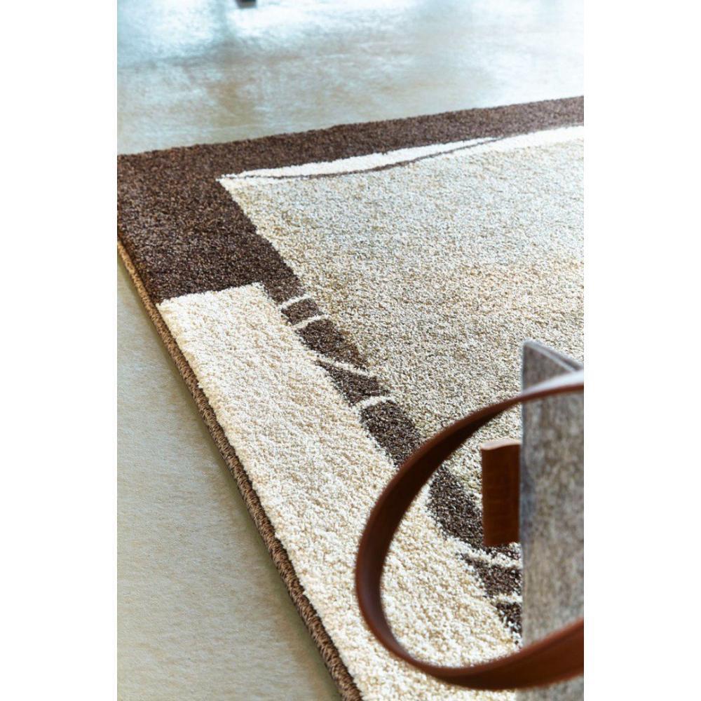 tapis poils courts meubles et rangements samoa design tapis patchwork taupe 200x290 cm. Black Bedroom Furniture Sets. Home Design Ideas