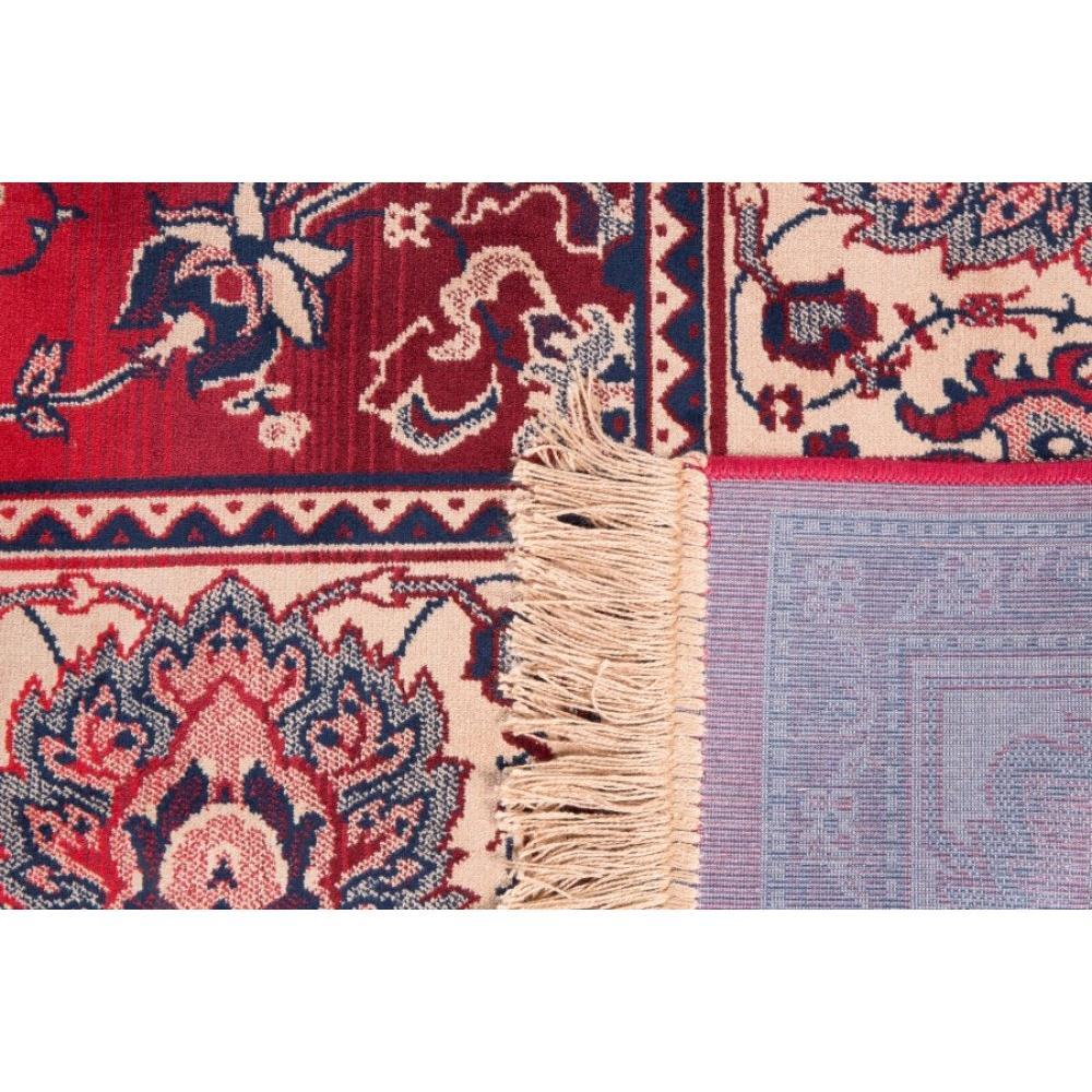 tapis bid rouge de dutchbone place du mariage. Black Bedroom Furniture Sets. Home Design Ideas