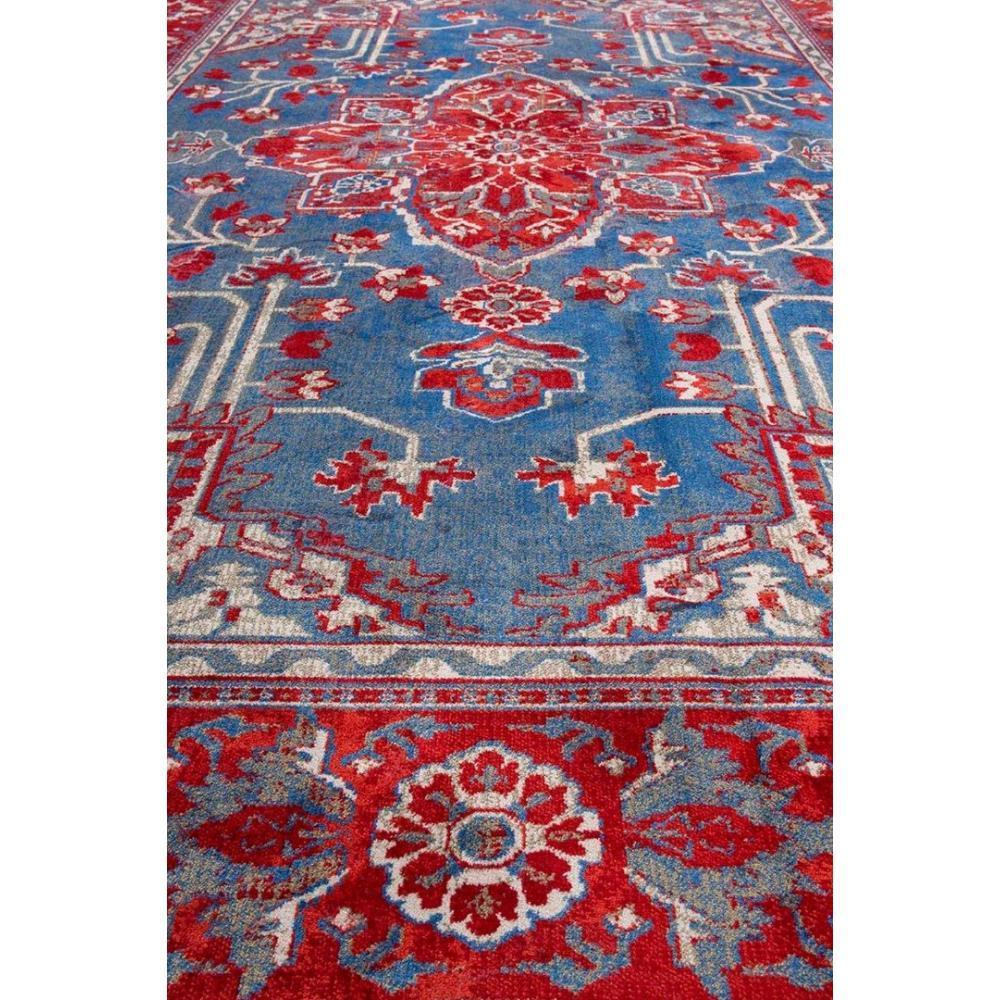 tapis icon rouge de dutchbone place du mariage. Black Bedroom Furniture Sets. Home Design Ideas