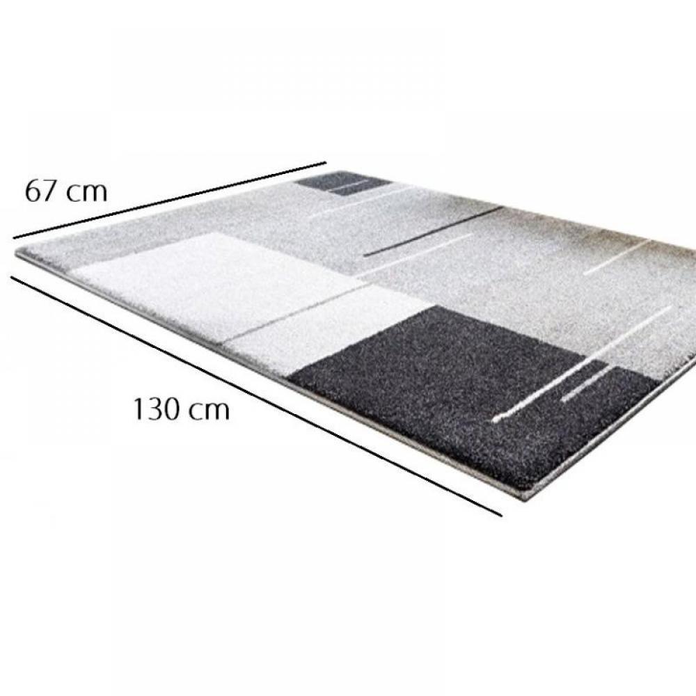 tapis de sol meubles et rangements samoa design tapis patchwork gris 200x290 cm inside75. Black Bedroom Furniture Sets. Home Design Ideas