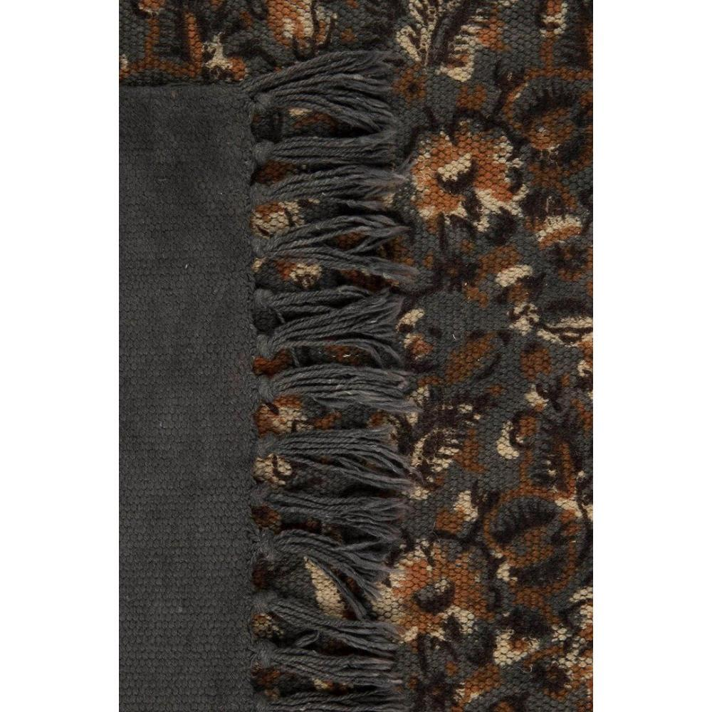 tapis poils courts meubles et rangements dutchbone tapis indian block gris inside75. Black Bedroom Furniture Sets. Home Design Ideas