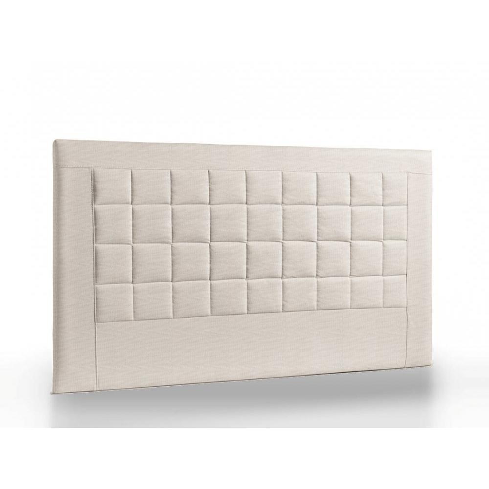 t tes de lit chambre literie t te de lit matelass e haut de gamme apollo 165 cm inside75. Black Bedroom Furniture Sets. Home Design Ideas