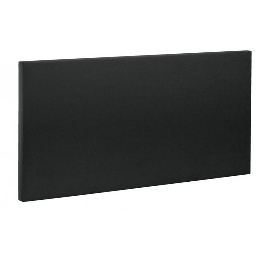 Sommiers bultex chambre literie lit double coffre bultex galaxie noir - Tete de lit cuir noir ...