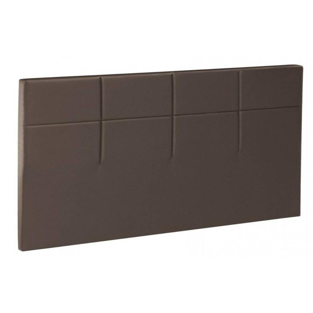 t tes de lit chambre literie bultex t te de lit salina velours vison 200cm inside75. Black Bedroom Furniture Sets. Home Design Ideas
