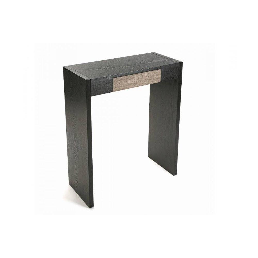 consoles tables et chaises toronto console bois 1 tiroir weng inside75. Black Bedroom Furniture Sets. Home Design Ideas