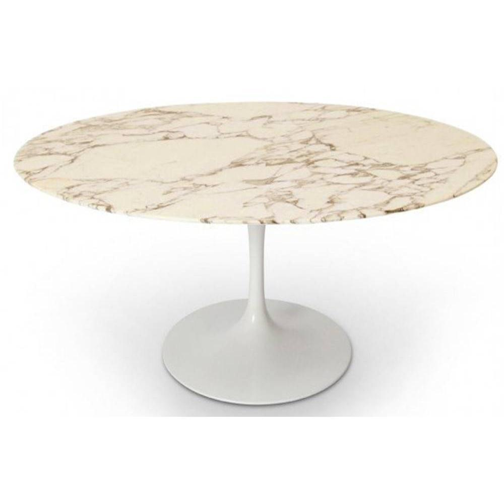 Tables tables et chaises table ronde de repas design - Table ronde en marbre ...