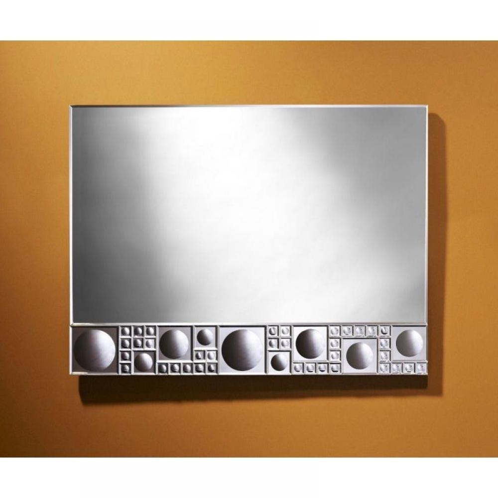 Miroirs meubles et rangements ur miroir mural design - Decoration miroir mural ...