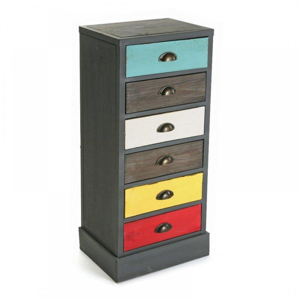 Chiffonniers meubles et rangements vancouver chiffonnier commode en bois 6 - Chiffonnier 6 tiroirs ...