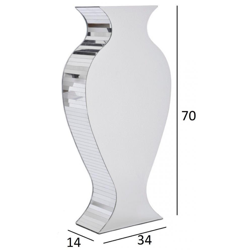 vase en forme de cruche crock avec miroirs place du mariage. Black Bedroom Furniture Sets. Home Design Ideas