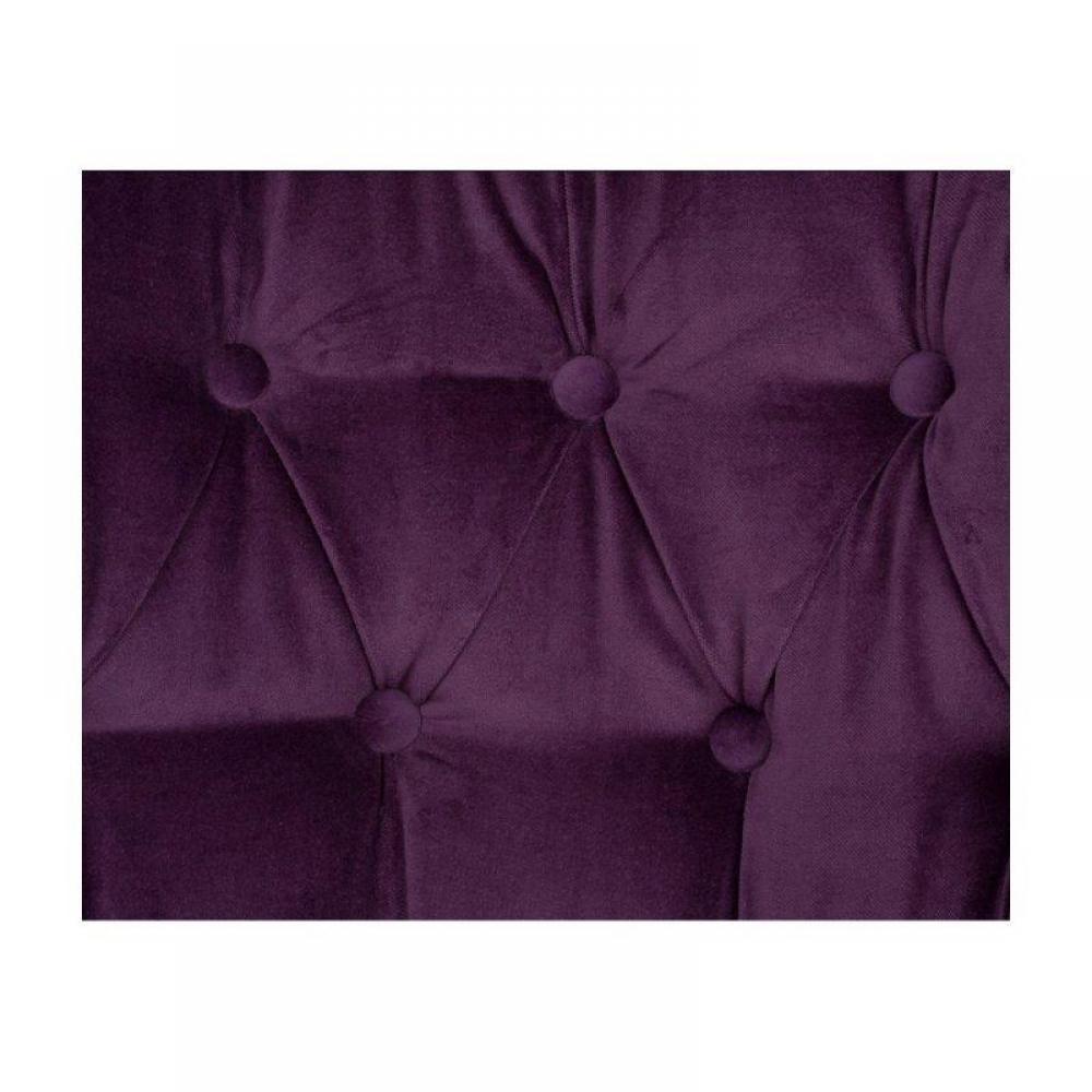 Canap s chesterfield meubles et rangements fauteuil capitonn versailles ve - Fauteuil capitonne violet ...