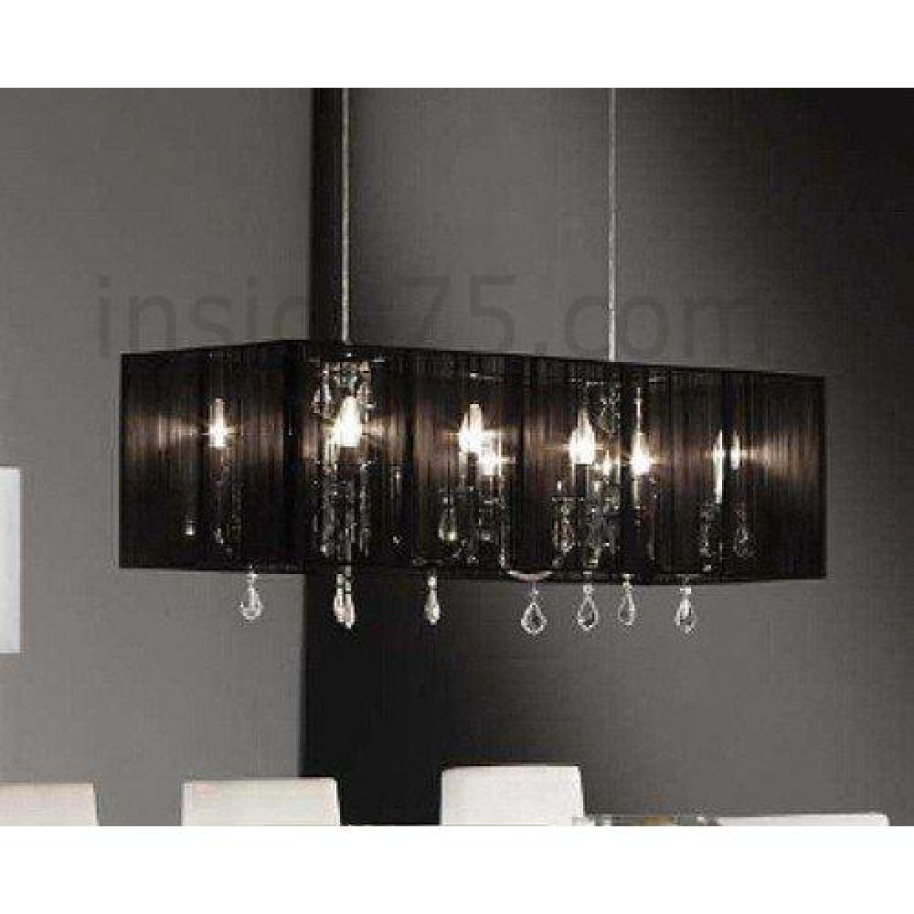 Lampes meubles et rangements vigo lustre chandelier for Lustre suspension design