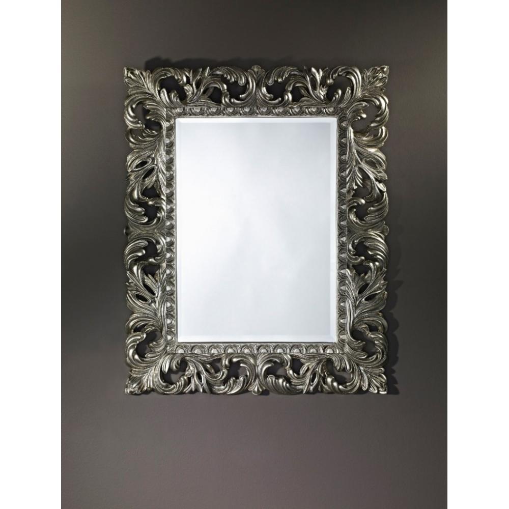 Miroirs meubles et rangements vinci miroir mural en for Meuble mural classique sims