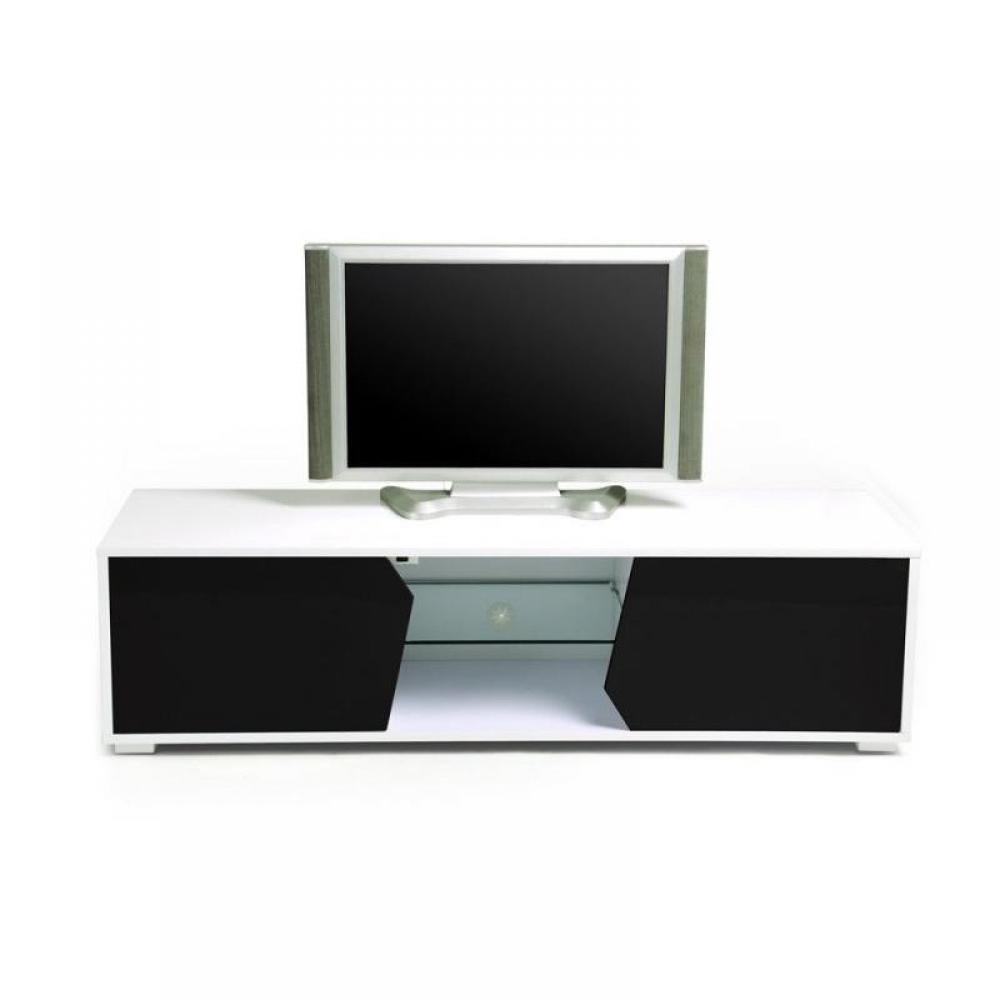 Meuble tv table tele blanc table tele blanc trouvez for Table de tele