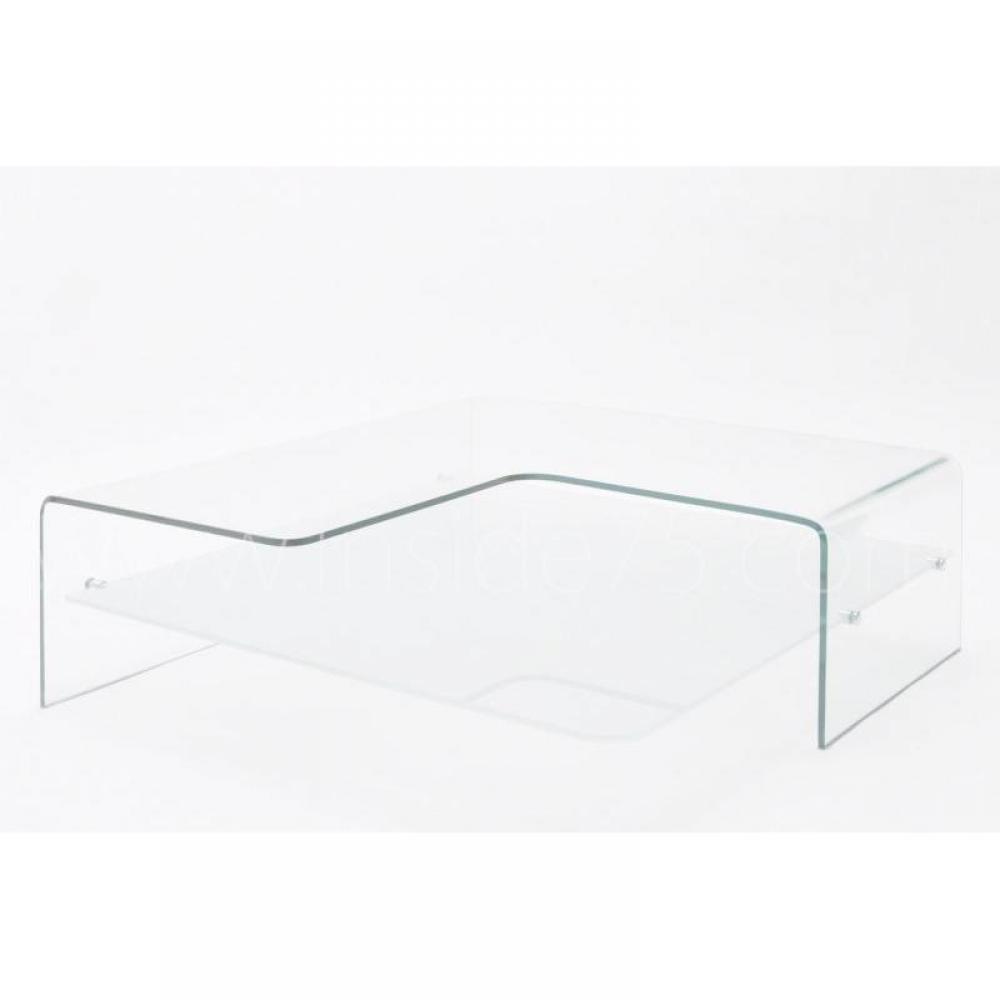 table basse design wave en verre. Black Bedroom Furniture Sets. Home Design Ideas