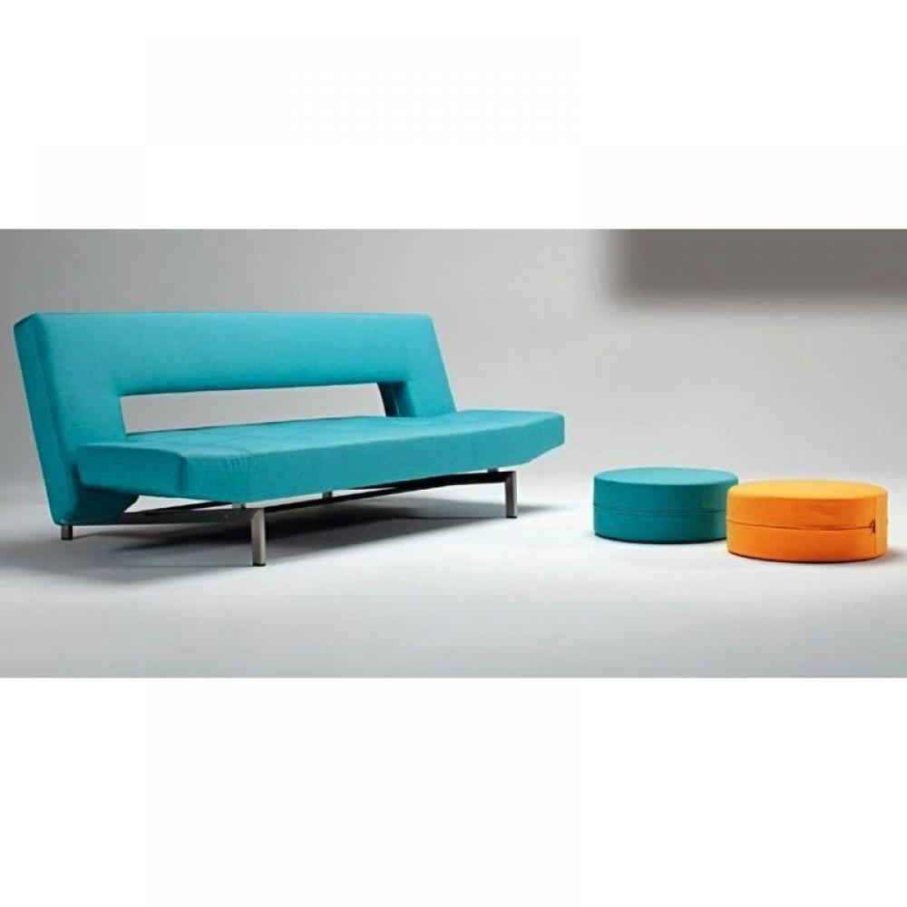 canape lit design wing bleu innovation convertible 200110cm - Canape Bleu