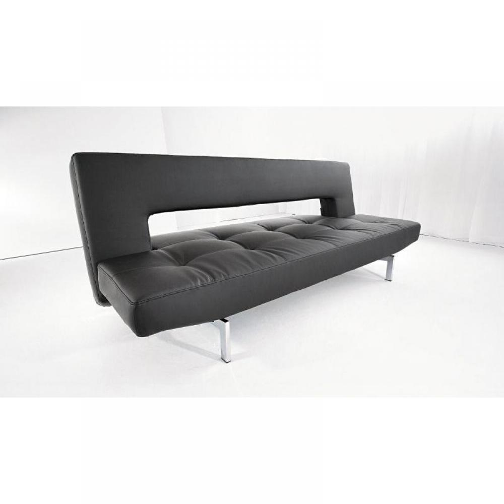 canap s syst me rapido canape design wing noir innovation convertible lit 200 110cm inside75. Black Bedroom Furniture Sets. Home Design Ideas