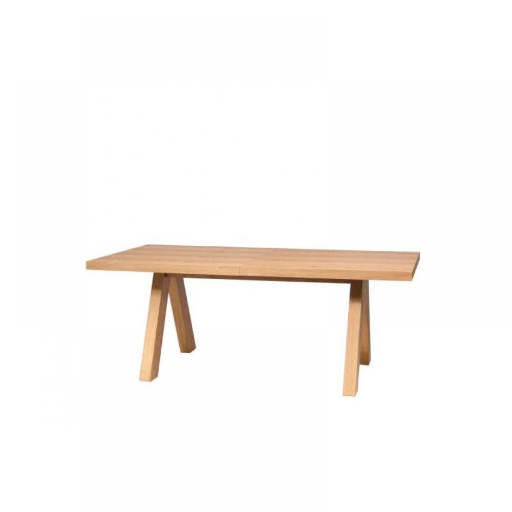 Tables repas meubles et rangements temahome apex table - Table chene extensible ...