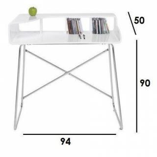 chaises meubles et rangements petit bureau studio laqu. Black Bedroom Furniture Sets. Home Design Ideas
