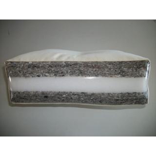 Canapé noir 3/4 places convertible INDIE matelas futon couchage 130*190cm
